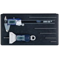 FOWLER - 54-004-330-0 -  X-tra Value Depth Gage and Euro-Cal Kit