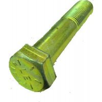 "Hex Cap Screw G8 Zinc 1""-14 x  2 1/2"