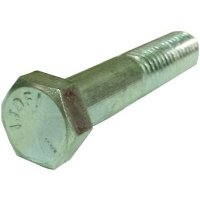 Hex Cap Screw G5 Zinc  3/8-16 x 3 1/2