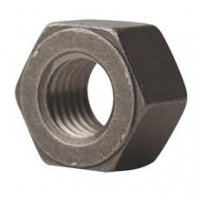 Heavy Hex Nut 2HM Black    3/4-10