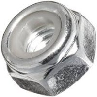 Lock Nut Nylon Insert  Cl10 Zinc M24