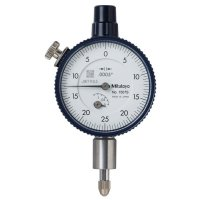 MITUTOYO - 1507SB - DIAL INDICATOR, .0005, .125 IN, 3/8, FB - CROSSOVER OF STARRETT PRODUCT NUMBER:  81-131J