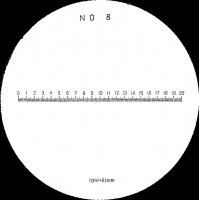 MITUTOYO - 183-109 - RETICLE #8 FOR PKT COMPARATOR