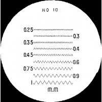 MITUTOYO - 183-111 - RETICLE #10 FOR PKT COMPARATOR