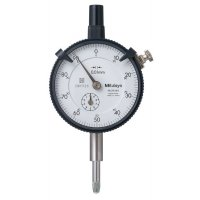 MITUTOYO - 2046S-01 - DIAL INDICATOR, .01, 10MM, 3/8, LB - CROSSOVER OF STARRETT PRODUCT NUMBER:  25-481J