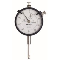 MITUTOYO - 2050SB-11 - DIAL INDICATOR, .01, 20MM, 3/8, FB - CROSSOVER OF STARRETT PRODUCT NUMBER:  25-881J