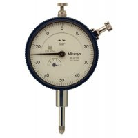 MITUTOYO - 2415S - DIAL INDICATOR, .001, .5 IN, 3/8, LB - CROSSOVER OF STARRETT PRODUCT NUMBER:  25-341/5J