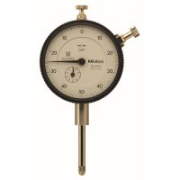 MITUTOYO - 2417S - DIAL INDICATOR, .001, 1 IN, 3/8, LB - CROSSOVER OF STARRETT PRODUCT NUMBER:  25-341