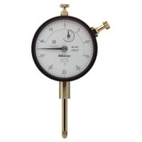 MITUTOYO - 2776S - DIAL INDICATOR, .0005, 1 IN, 3/8, LB - CROSSOVER OF STARRETT PRODUCT NUMBER:  25-631J