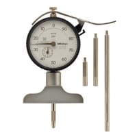 MITUTOYO - 7217S - DIAL DPTH GAGE, 0-8 IN/1 IN, .001 IN
