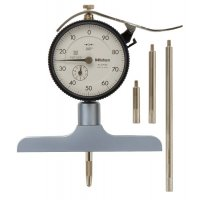 MITUTOYO - 7218S - DIAL DPTH GAGE, 0-8 IN/1 IN, .001 IN