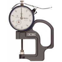MITUTOYO - 7304S - DIAL THCK GAGE, 0-1 IN, .001 IN - CROSSOVER OF STARRETT PRODUCT NUMBER:  1015B