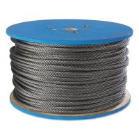 Peerless Aircraft Quality Wire Ropes - Aircraft Quality Wire Ropes, 7 Strands, 19 Strands/Wire, 3/16 in, 840 lb Load - 005-4503290 - Peerless