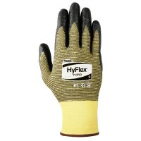 Ansell HyFlex® Light Cut Protection Gloves - HyFlex Light Cut Protection Gloves, Size 10, Black - Ansell - 012-11-510-10