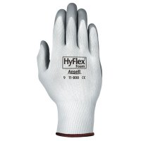 Ansell HyFlex® Foam Gloves - HyFlex Foam Gloves, 7, Gray/White - 012-11-800-7 - Ansell