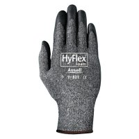 Ansell HyFlex® Foam Gray™ Gloves - HyFlex Foam Gray Gloves, 11, Black/Dark Gray - 012-11-801-11 - Ansell