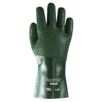 Ansell Snorkel® PVC Coated Gloves - Snorkel PVC Coated Gloves, 10, Dark Green - 012-4-412-10 - Ansell