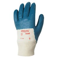 Ansell HyLite® Palm Coated Gloves - HyLite Palm Coated Gloves, 9, Blue - Ansell - 012-47-400-9