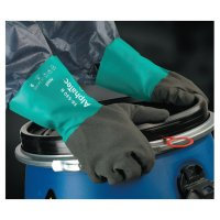 Ansell AlphaTec™ Gloves - AlphaTec Gloves, 9, Black/Teal, 12 in - 012-58-530B-090 - Ansell
