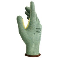 Vantage Heavy Cut Protection Gloves, Size 8, Mint, Leather - 012-70-765-8 - Ansell