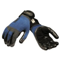 Ansell ActivARMR® Heavy Laborer Gloves - ActivARMR Heavy Laborer Gloves, X-Large, Black/Blue - 012-97-003-11 - Ansell