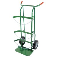 """Anthony Dual-Cylinder Delivery Carts - Dual-Cylinder Delivery Carts, Holds 9""""-10"""" Cylinders, 10"""" Solid Rubber Wheel - 021-55-3B - Anthony"""