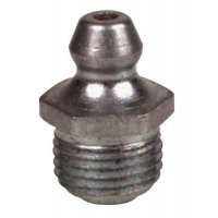 Alemite® Hydraulic Fittings - Hydraulic Fittings, Straight, 11/16 in, Male/Male, 1/8 in (PTF-SAE) - 025-1610-BL - Alemite®