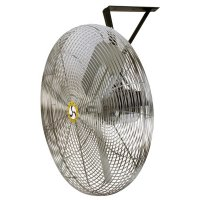Airmaster® Fan Company Commercial Air Circulators - Commercial Non-Oscillating Air Circulator, Wall/Ceiling, 30 in, 1/4 hp, 3-Speed - 063-71573 - Airmaster® Fan Company