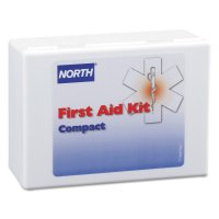 Honeywell North® Compact First Aid Kits - Compact First Aid Kits, 26-Piece, Plastic Case - 068-019733-0020L - North by Honeywell