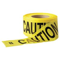 Anchor Brand Economy Barrier Tape - Economy Barrier Tape, 3 in x 1,000 ft, Yellow, Caution - 101-Y10003 - Anchor Products