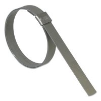 Band-It® Junior® Smooth I.D. Clamps - Junior Smooth I.D. Clamps, 13/16 in Dia, 1/4 in Wide, Stainless Steel 201 - 080-JS2409 - Band-It®