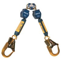 DBI-SALA® Nano-Lok™ Self-Retracting Lifelines - Nano-Lok Self-Retracting Lifeline, 6 ft, Harness Connection, 420 lb Cap., 2 Legs - 098-3101277 - Capital Safety