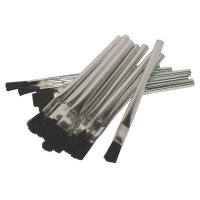Acid Brushes, 1/4 in Thick x 1/2 in Wide, Horsehair, Tin Handle - 102-BW-181 - Anchor Products