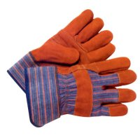 Anchor Brand Work Gloves - Work Gloves, Large, Cowhide, Blue - 101-WG-999 - Anchor Products