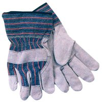 Anchor Brand Work Gloves - Work Gloves, Large, Cowhide, Pearl Gray - 101-1775 - Anchor Products