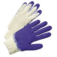 Anchor Brand Latex Coated Gloves - Latex Coated Gloves, Men's, Blue/White - 101-6040 - Anchor Products