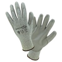 Anchor Brand Micro-Foam Nitrile Dipped Coated Gloves - Micro-Foam Nitrile Dipped Coated Gloves, X-Large, Black/Gray - 101-6070-XL - Anchor Products