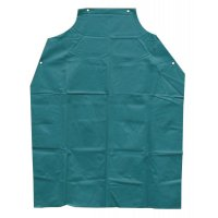 Anchor Brand Bib Aprons - Bib Aprons, 45 in X 35 in, Vinyl, Green - 101-AG-100 - Anchor Products