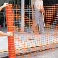 Anchor Brand Safety Fences - Safety Fences, 4 ft x 100 ft, Polyethelene, Orange - 101-ML-500 - Anchor Products