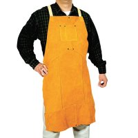 Best Welds Leather Bib Aprons - Leather Bib Apron, 24 in x 36 in, Golden Brown - 902-Q-5 - Best Welds
