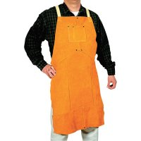 Best Welds Leather Bib Aprons - Leather Bib Apron, 24 in x 42 in, Golden Brown - 902-Q-6 - Best Welds