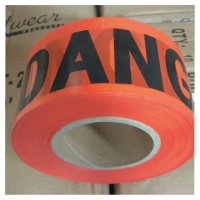 Anchor Brand Economy Barrier Tape - Economy Barrier Tape, 3 in x 1,000 ft, Red, Danger - 101-R10003 - Anchor Products
