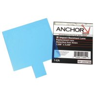 Anchor Brand Cover Lens - Cover Lens, 100% Polycarbonate, Miller, Outside Cover Lens, 3 5/8 in x 4 1/2 in - 101-UV411M - Anchor Products