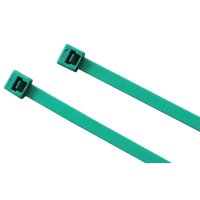 Anchor Brand Metal Detectable Ties - Metal Detectable Ties, 120 lb Tensile Strength, 15 in, Teal, 100 per bag - 102-15120MD - Anchor Products