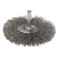 """Anchor Brand Crimped Wheel Brushes - Crimped Wire Wheel Brushes, 3"""" D, 0.014"""" Stainless Steel Wire - 102-BW-9220 - Anchor Products"""