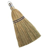 Anchor Brand Whisk Brooms - Whisk Brooms, 12 in Trim L, 100% Broom Corn Fill - 103-500WB - Anchor Products