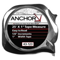 Anchor Brand Easy to Read Tape Measures - Easy to Read Tape Measures, 3/4 in x 16 ft - 103-43-119 - Anchor Products