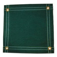 Anchor Brand Protective Tarps - Protective Tarps, 12 ft Long, 10 ft Wide, Green Canvas - 103-92552 - Anchor Products