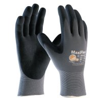 MaxiFlex Ultimate Gloves, Large, Black/Gray - 112-34-874/L - Bouton®