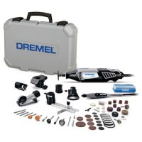 Dremel® 4000 Series Rotary Tools - 4000 Series Rotary Tools, Variable Speed, 35,000 rpm, 50 Assorted Accessories - 114-4000-6/50 - Bosch Tool Corporation